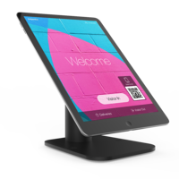 Boss-Tab Freedom stand with SwipedOn visitor management