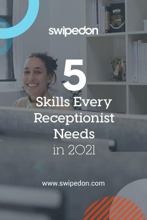 Pinterest: 5 Skills Every Receptionist Needs
