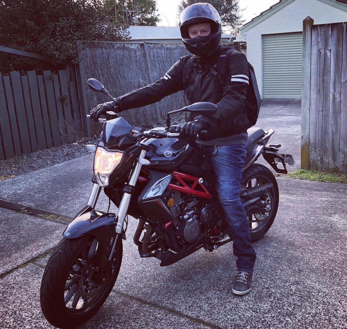 Meet the team: Scott UX and UI designer motorbike