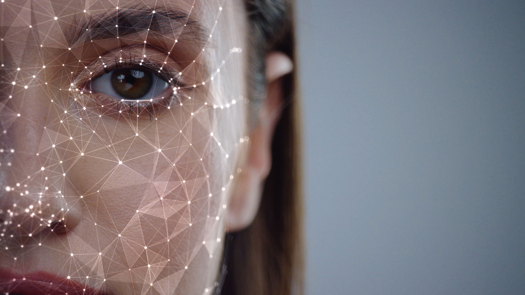 woman with facial mapping