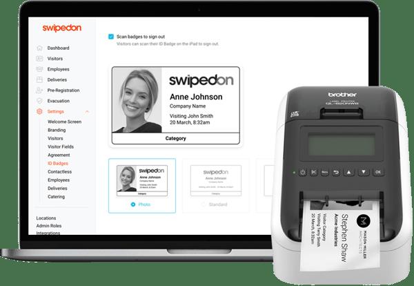 4. Print and Enforce Photo ID Badges - SwipedOn