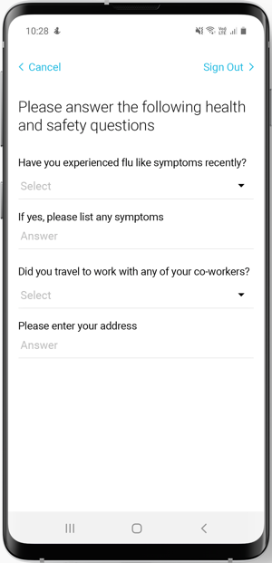 Visitor Screening Questions: A Hygienic Way to Register Employees & Visitors in the Workplace