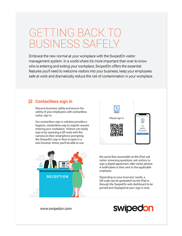 Getting back to business safely PDF