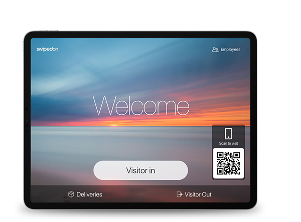 ipad visitor management system