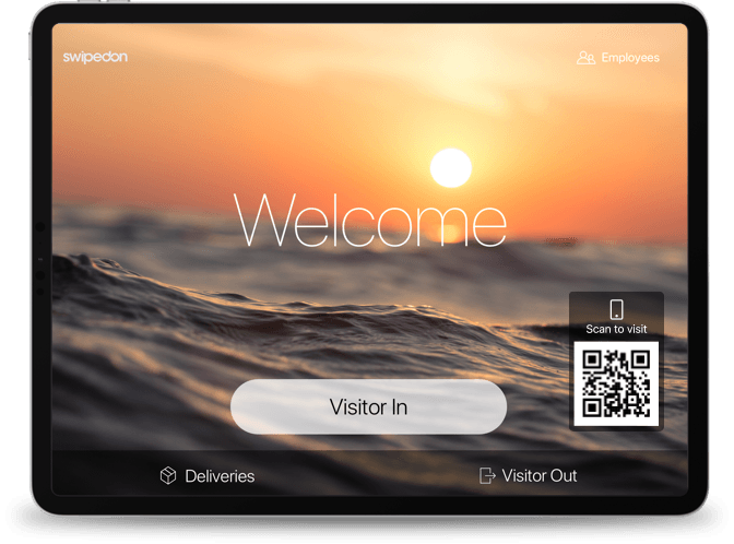 SwipedOn: Visitor Management System Australia   In and Out